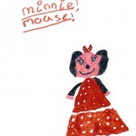 Minnie Mouse, Drawn by Jessica