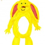 Rabbit, Drawn by Aimee Age 10