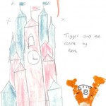 Tigger and Castle, Drawn by Beth